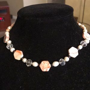 Jewelry - 🛍🎉Redline marble freshwater pearl necklace